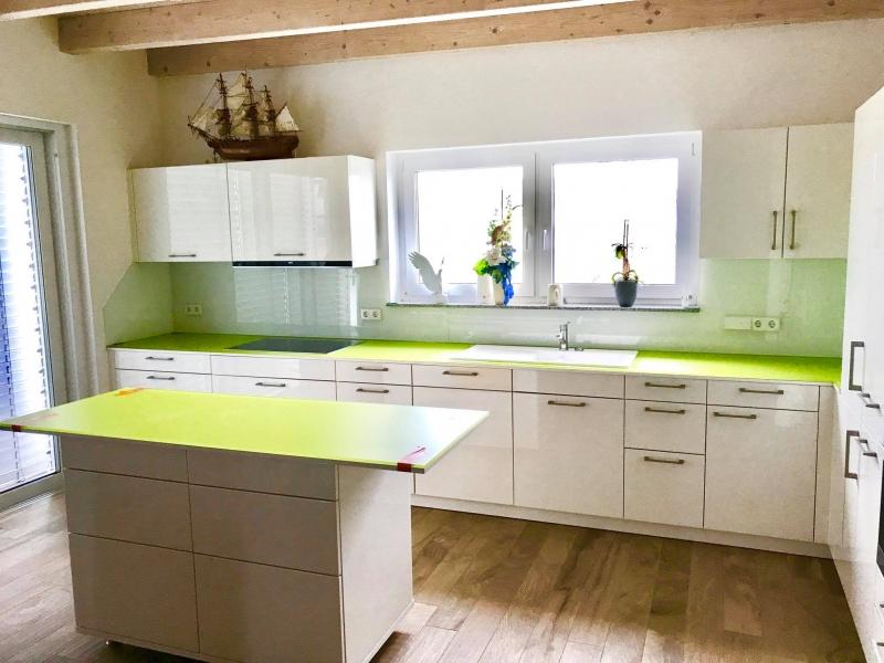 glas k chenr ckwand ms glasdesign. Black Bedroom Furniture Sets. Home Design Ideas